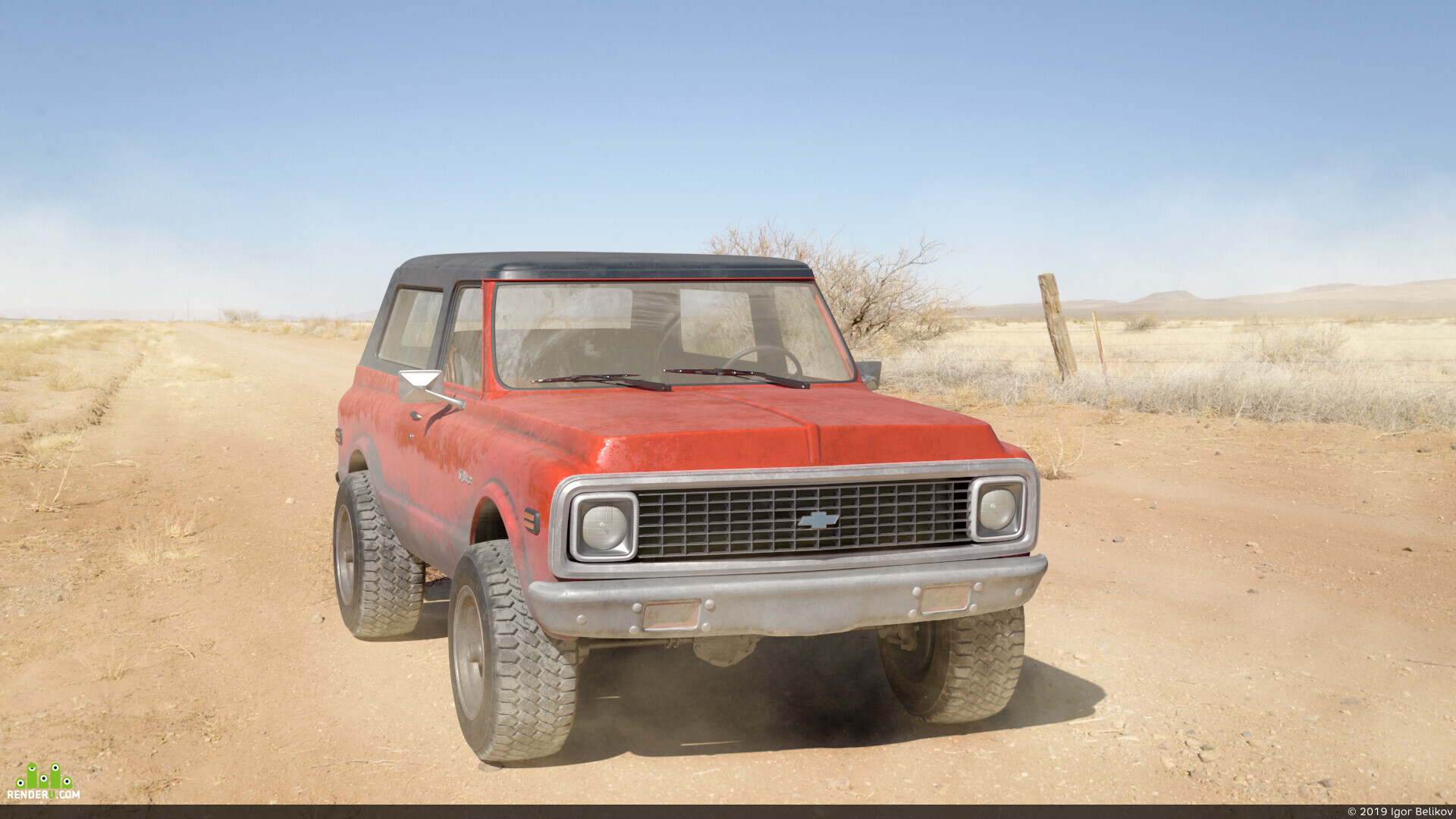 preview Chevrolet Blazer k5 1972