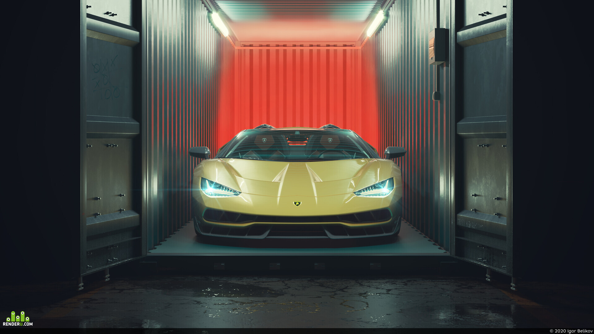 preview Lamborghini Centenario roadster