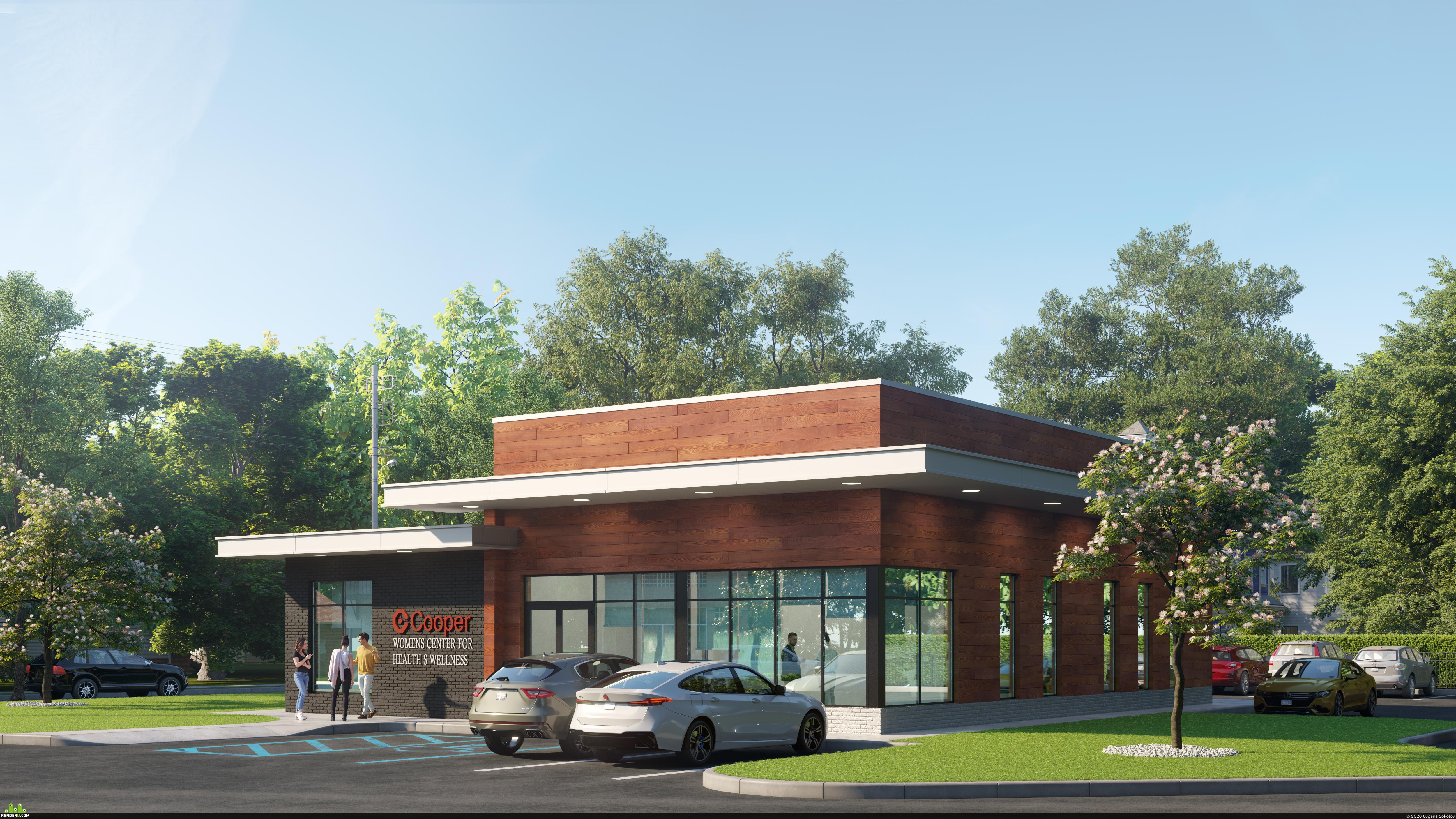 preview Реконструкция медицинского центра.
