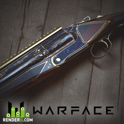 preview Shotgun Chiappa Triple Threat Gold Version for Warface