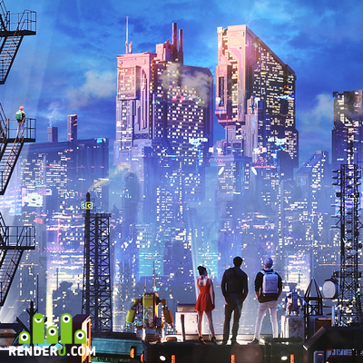 preview Cyber city