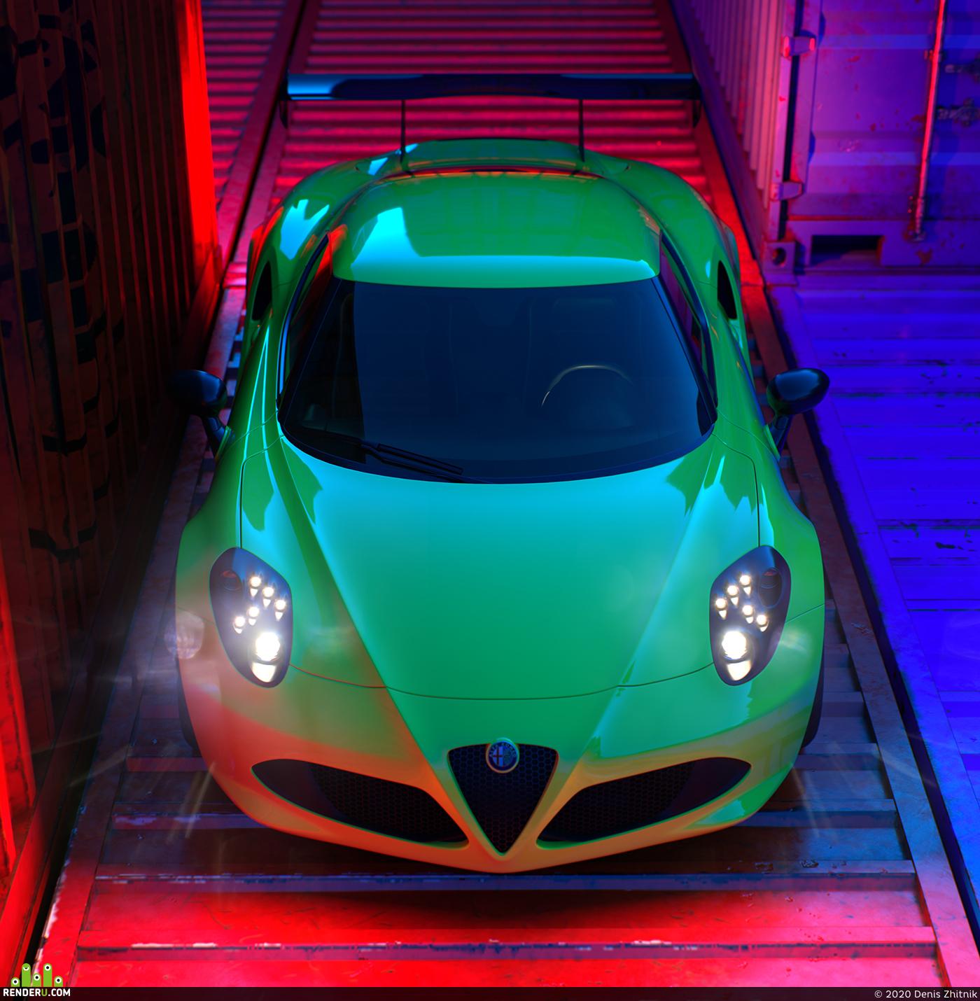 preview Alfa Romeo 4C