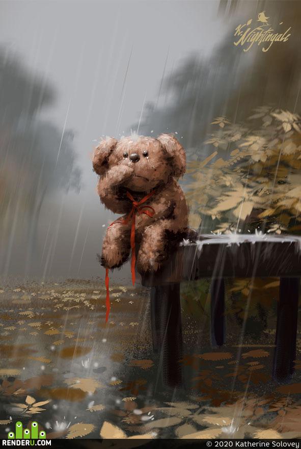 preview Осенний дождь
