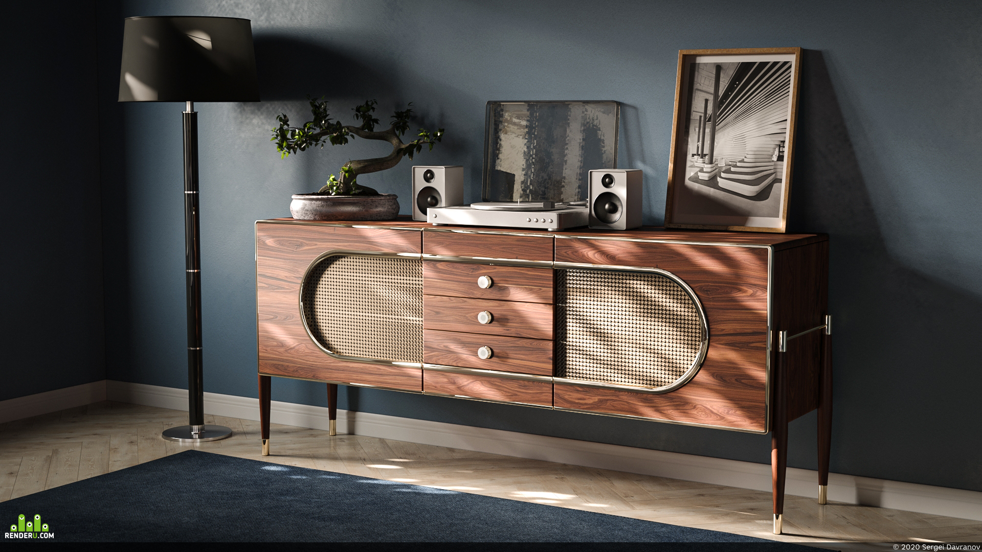 preview Essential Home. Dandy Sideboard