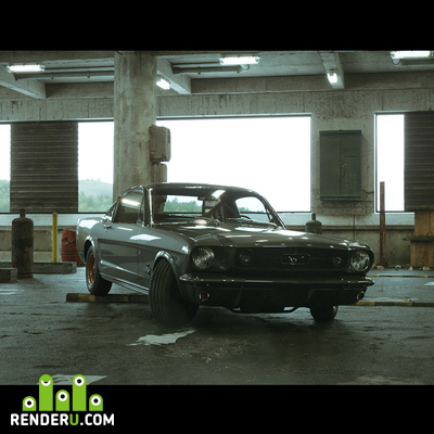 preview Old school MUSTANG