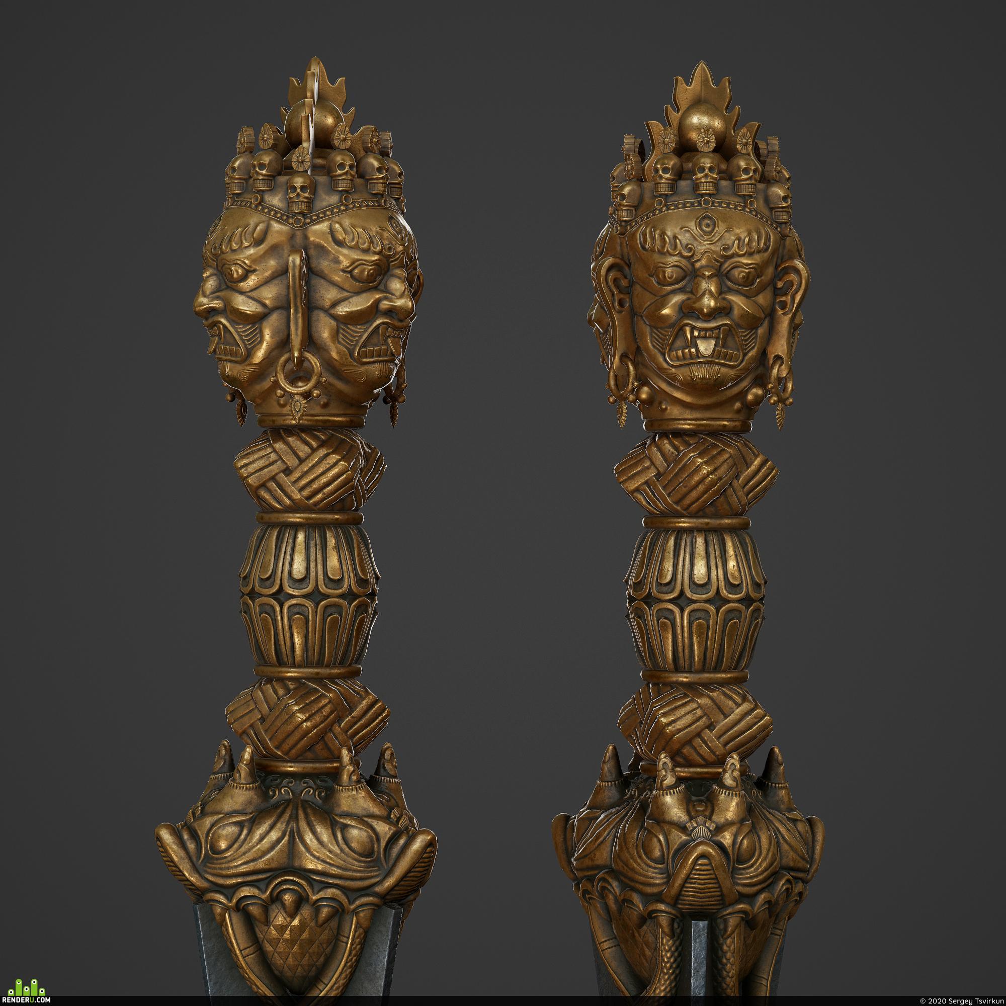 preview Ритуальный кинжал Пхурба