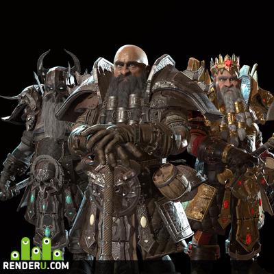 preview Dwarf game ready