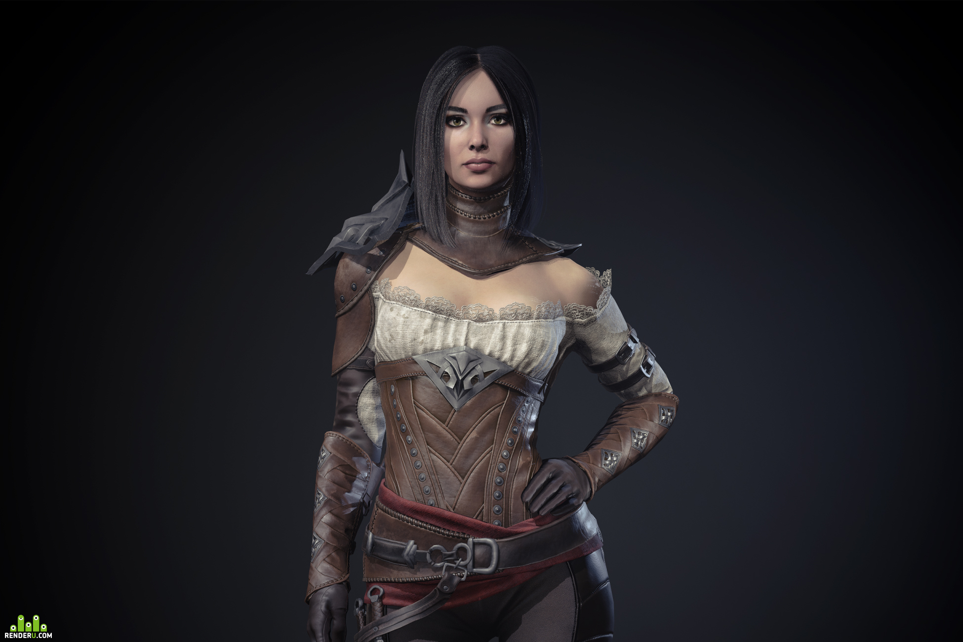 preview Caroline game character