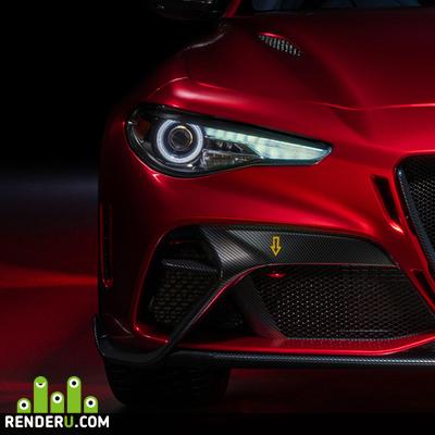 preview Alfa Romeo Giulia GTAm