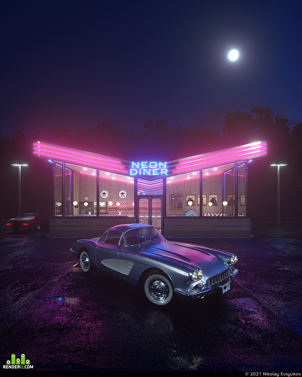 preview Neon Diner
