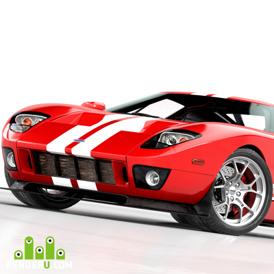 preview Ford GT studio