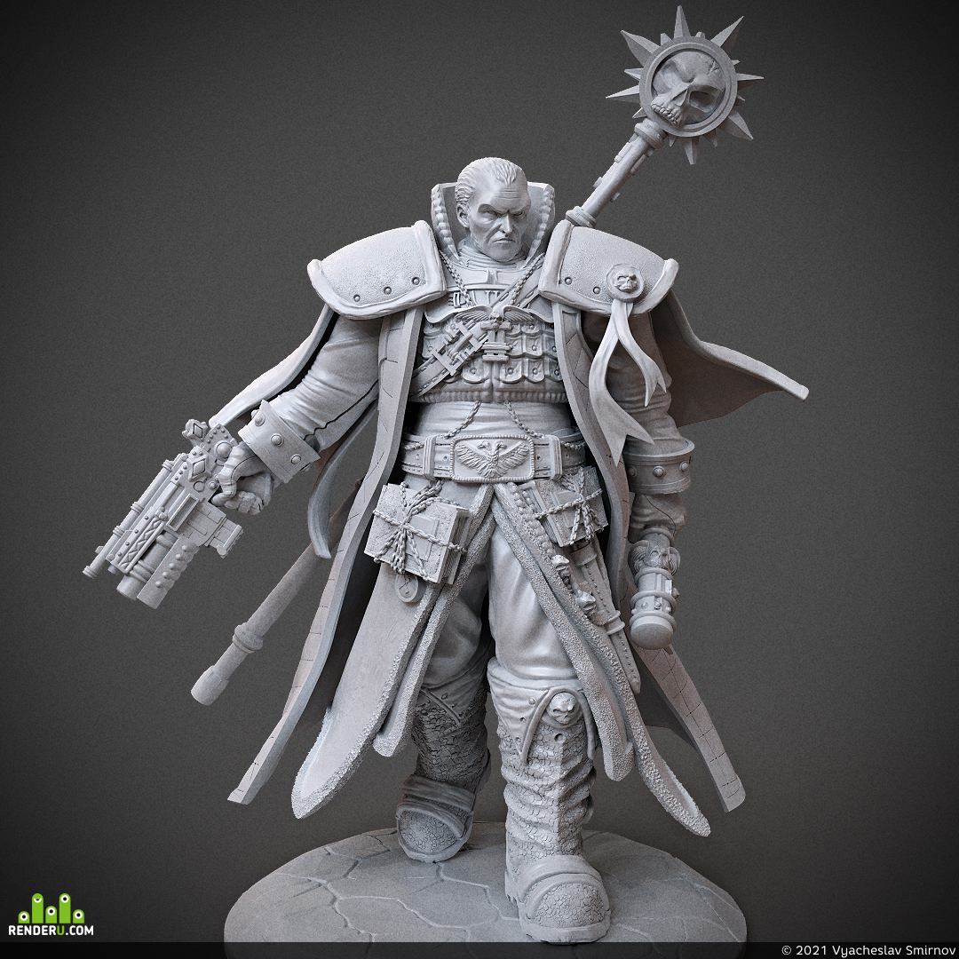 preview Inquisitor Gregor Eisenhorn - Warhammer 40k