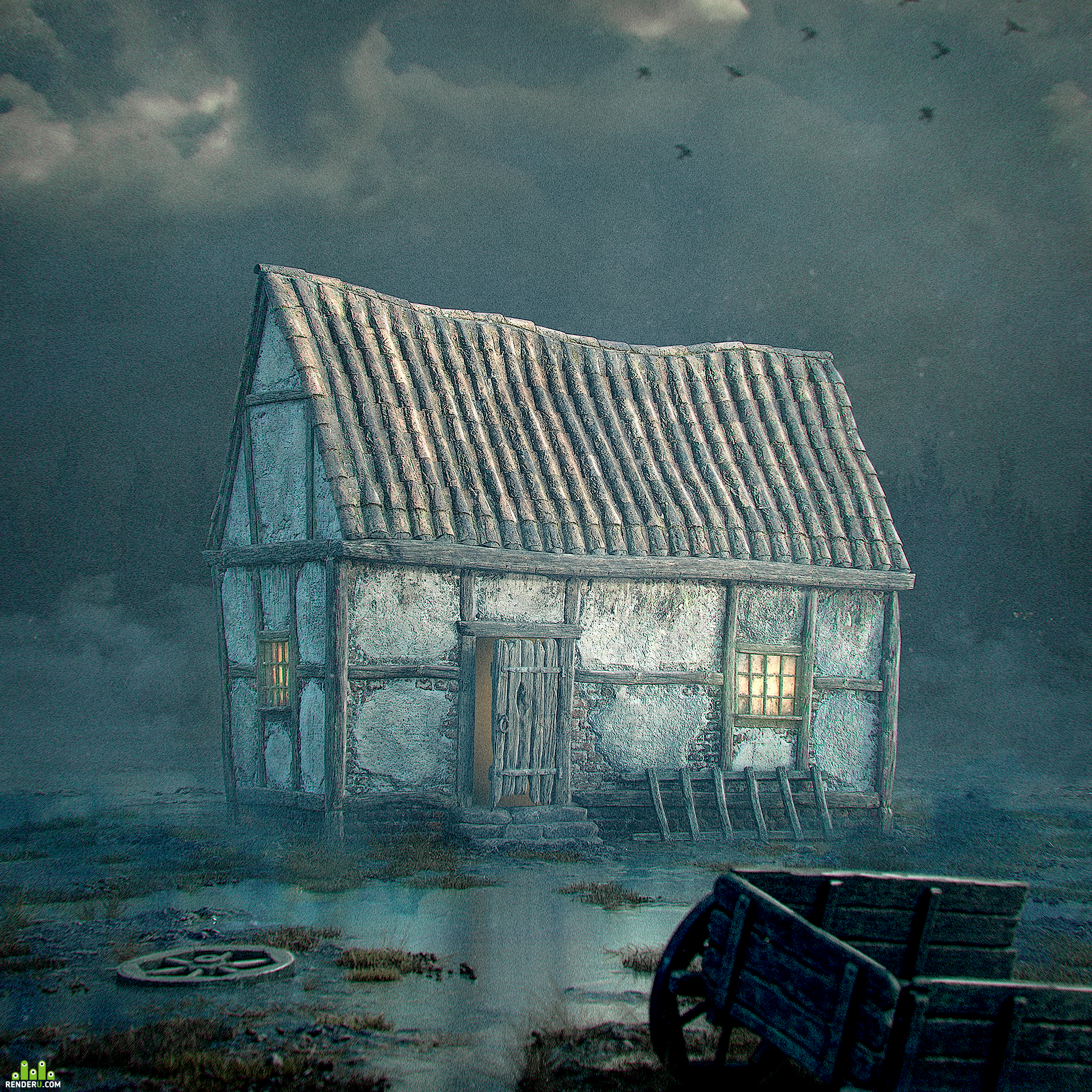 preview A lonely house in a swamp