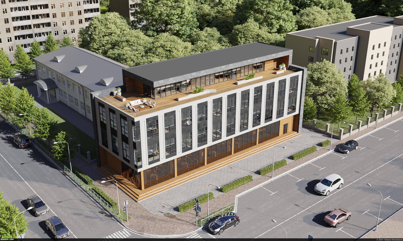 preview Проект офисного здания в Симферополе