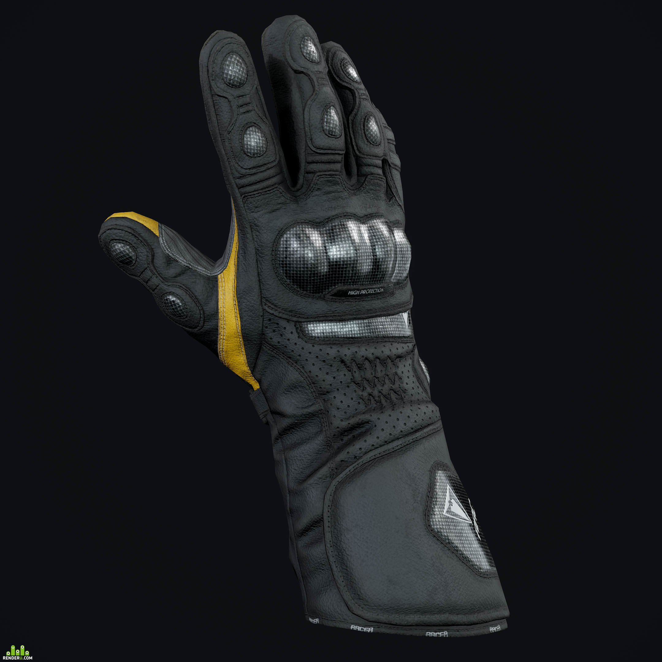 preview High Racer Gloves