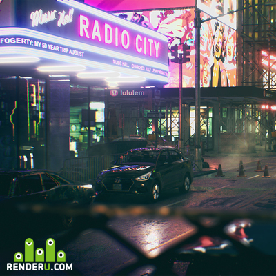 preview Street on unreal engine 4