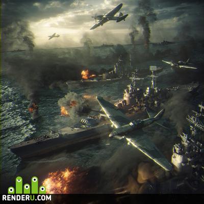 preview Вторая мировая война: Морской бой
