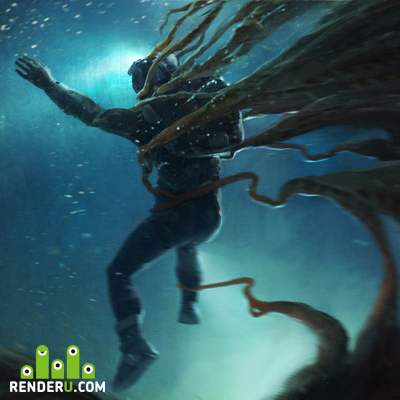 preview Underwater exploration keyframe design