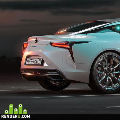 preview Lexus LC500h (FullCG)