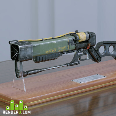 preview AER9 Laser rifle