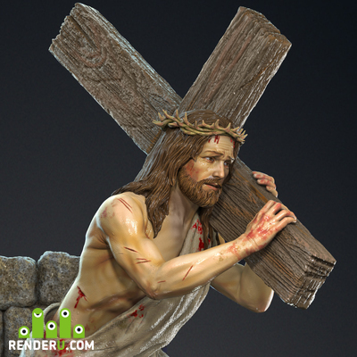 preview Jesus with Cross.