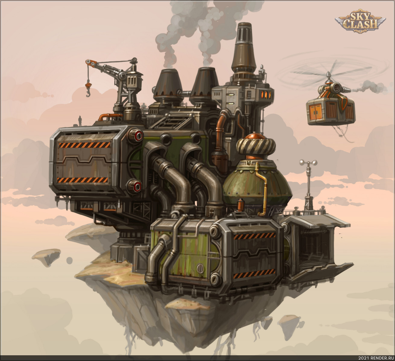 preview Sky Clash - небесная судоверфь