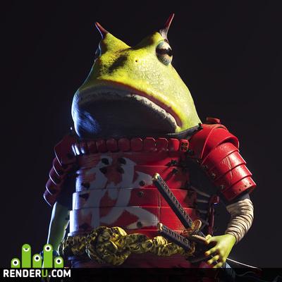 preview Samurai frog