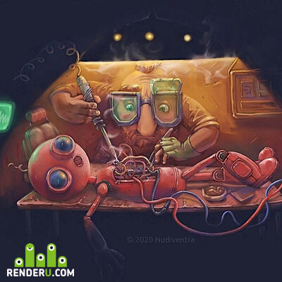 preview Иллюстрация к игре Mechanic 8230.
