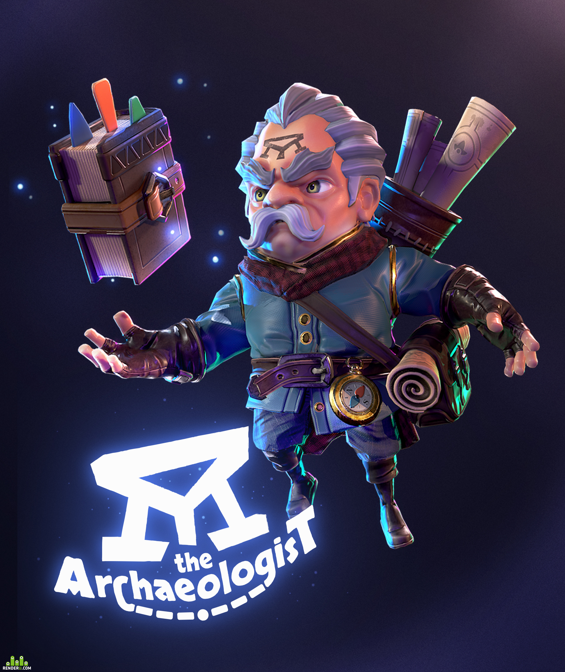 preview The Archaeologist (tutorial by Guillaume Mahieu)