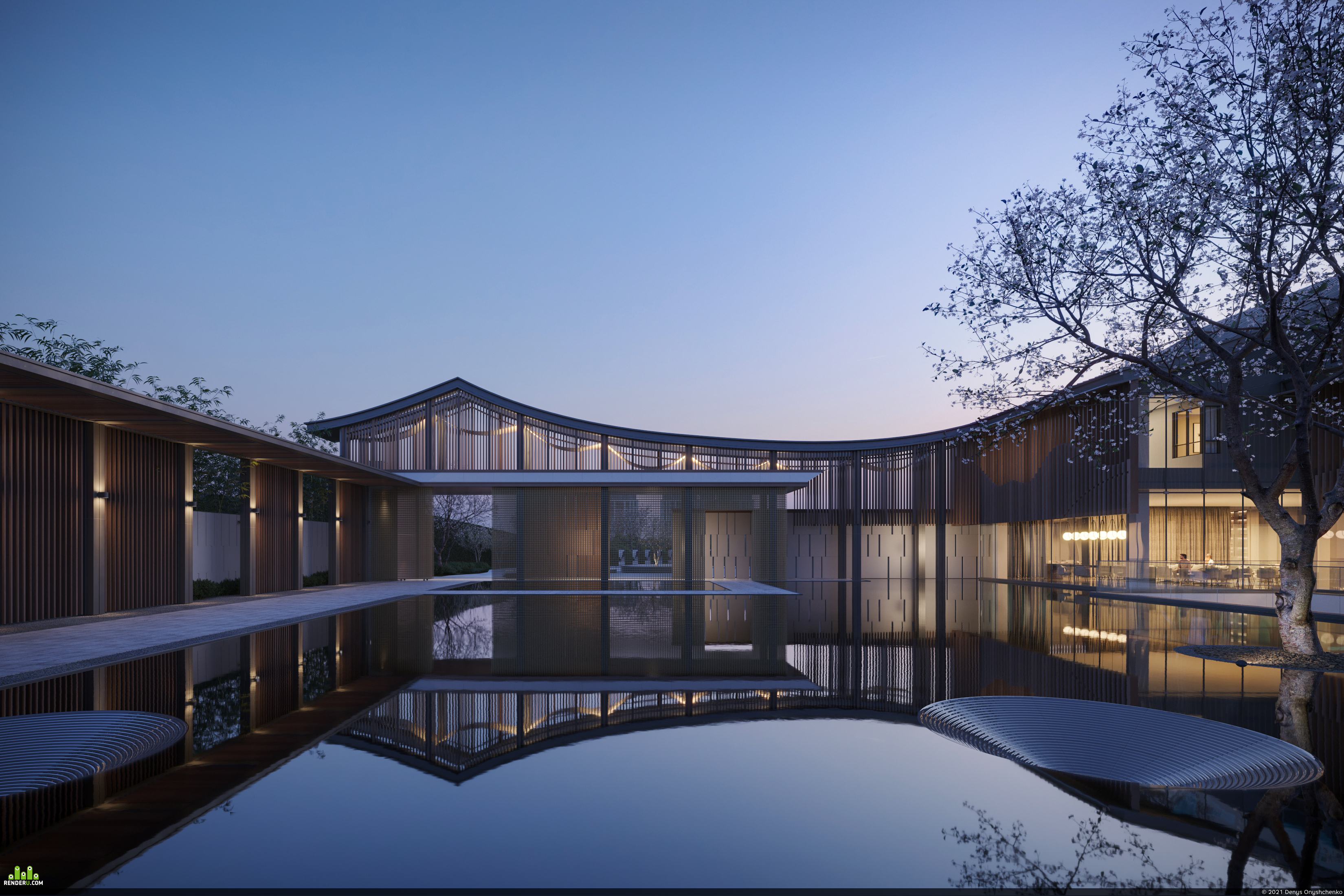preview Jiangnan Courtyard | CGI