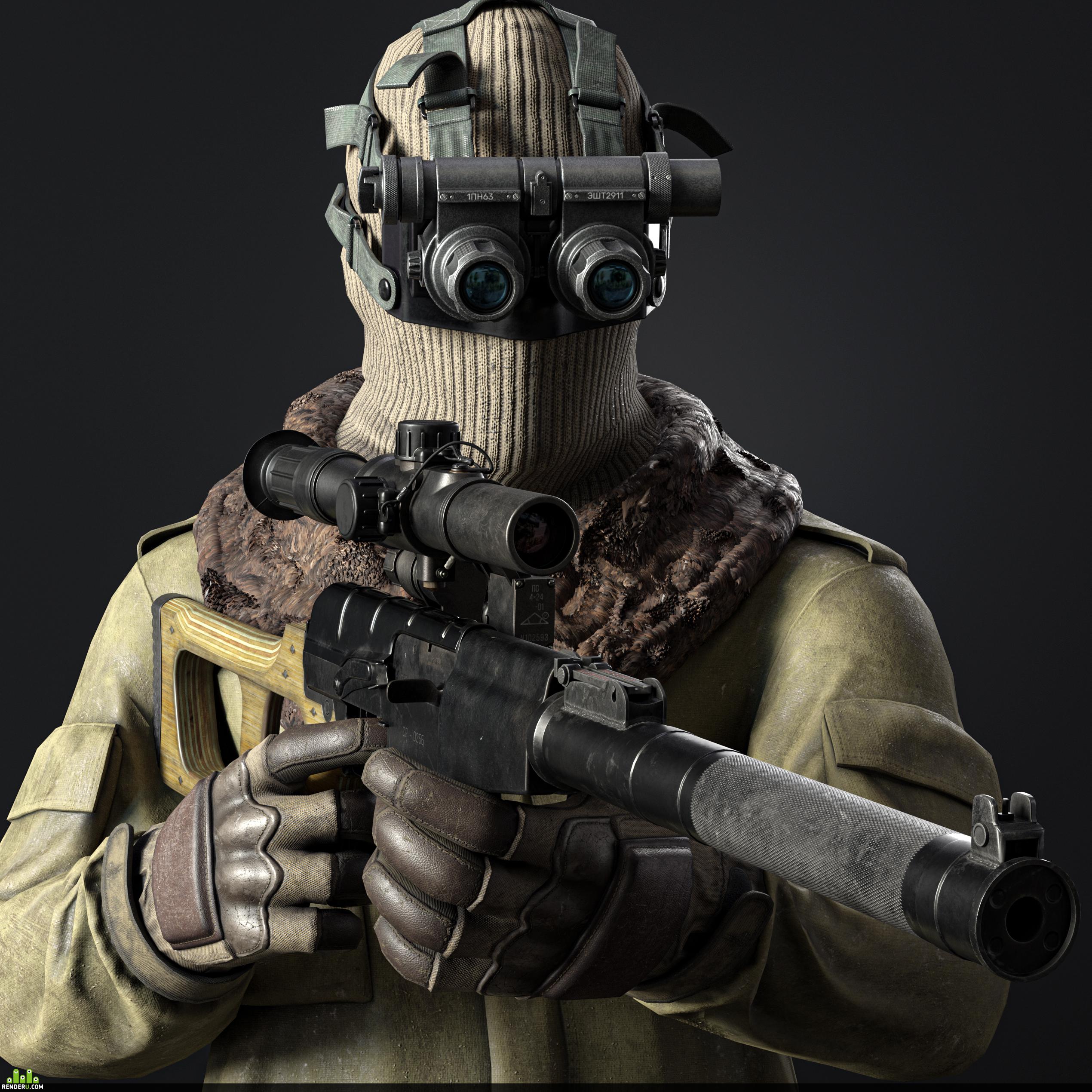 preview модульный русский солдат