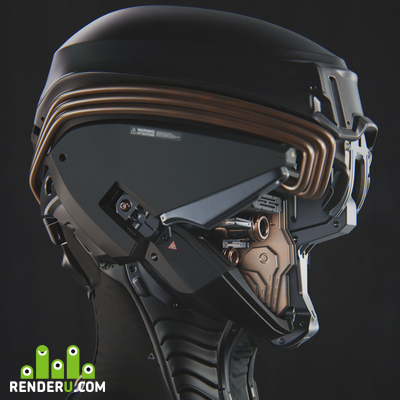 preview Sci-fi head