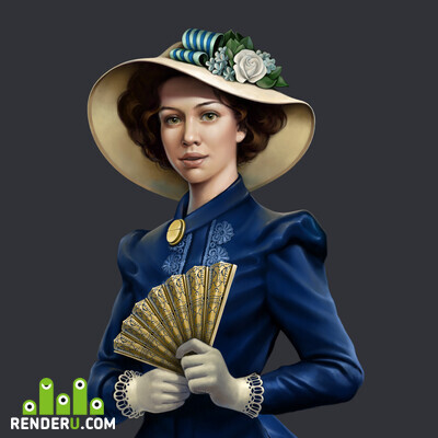 preview Victorian girl