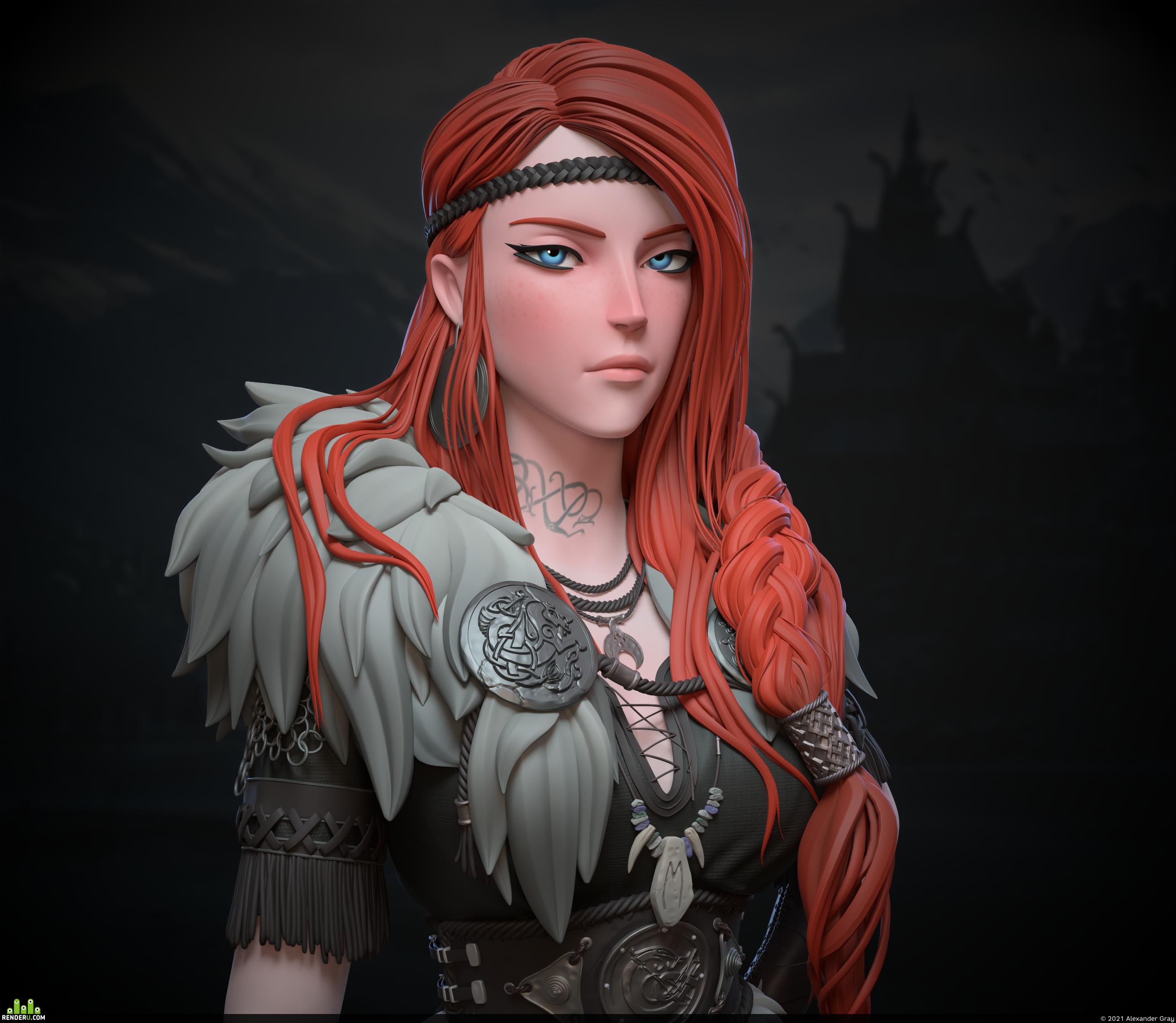 preview Viking girl Faye