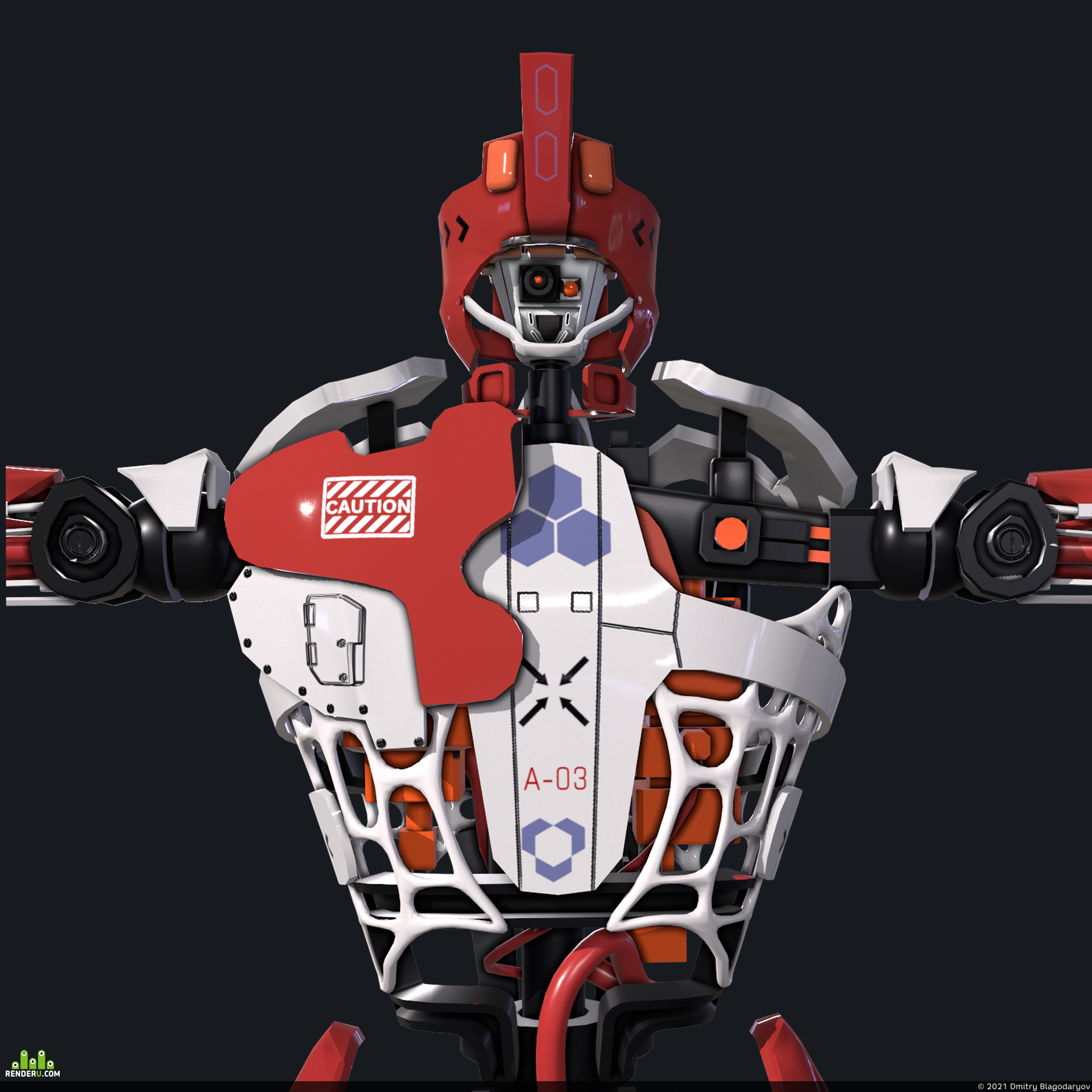 preview Robot humanoid A-003