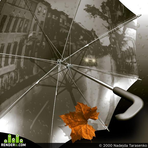 preview Дождь в городе