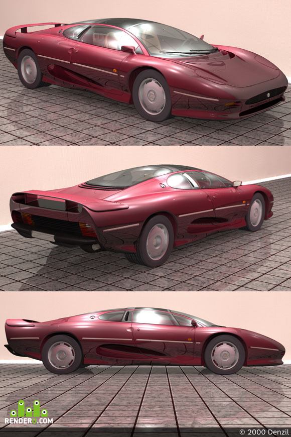 preview Jaguar XJ220