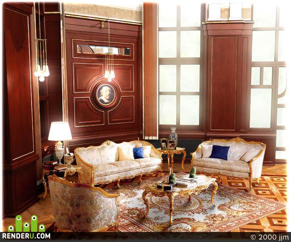 preview Дворцовая мебель в интерьере