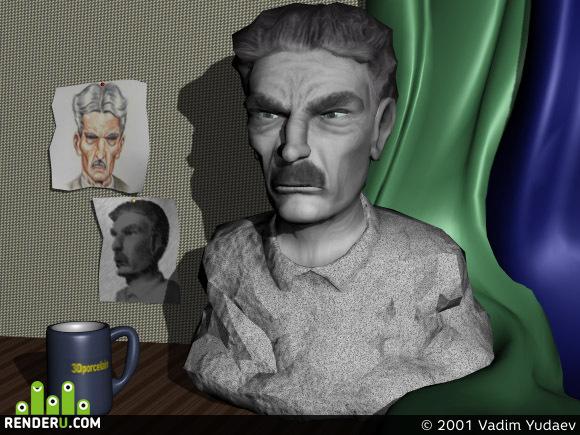 preview V 3D masterskoy