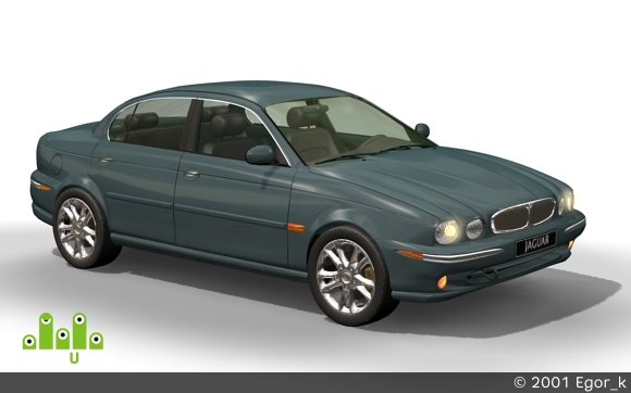 preview model jaguar x-type