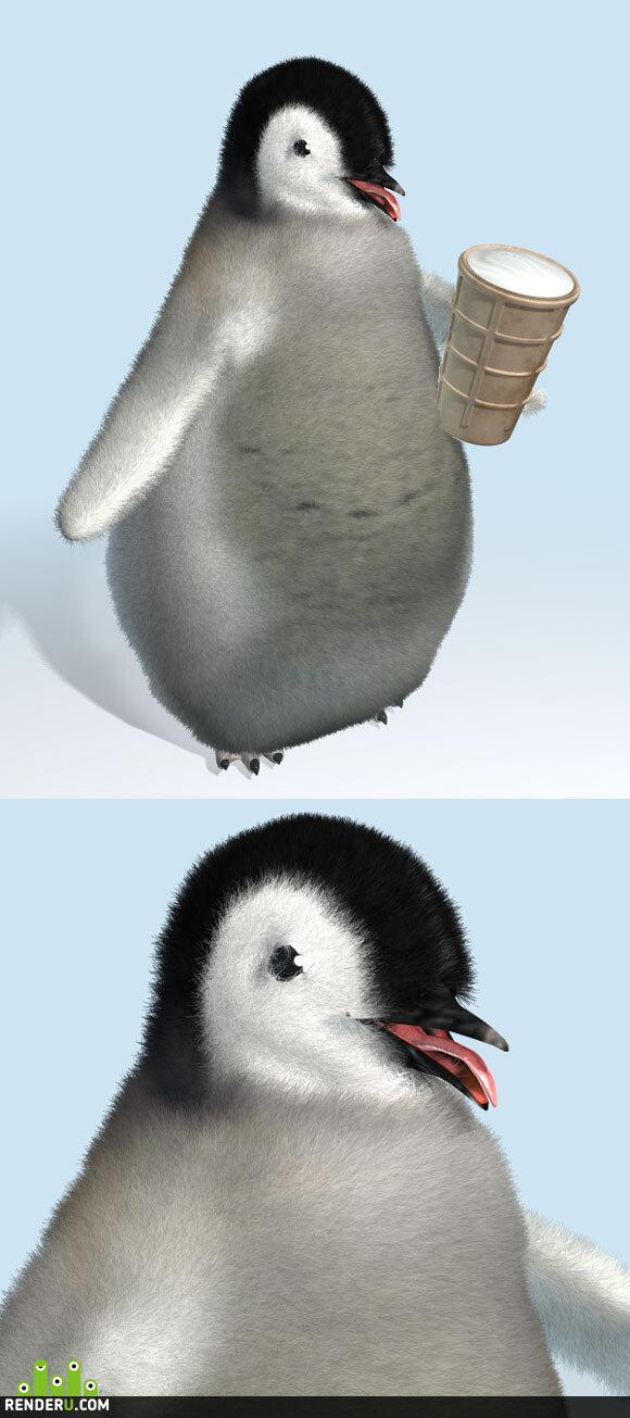 preview Пингвинёнок