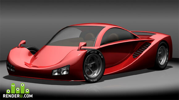 "preview Supercar ""NURBOZ"""