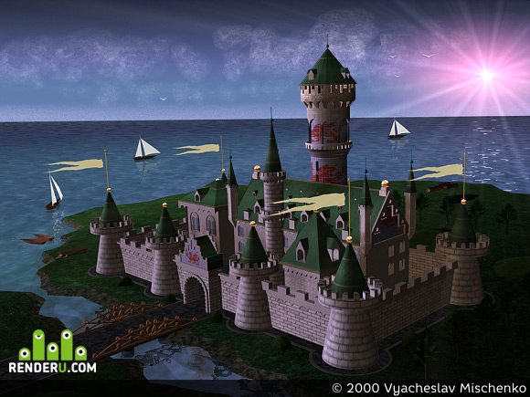 preview покинутый замок