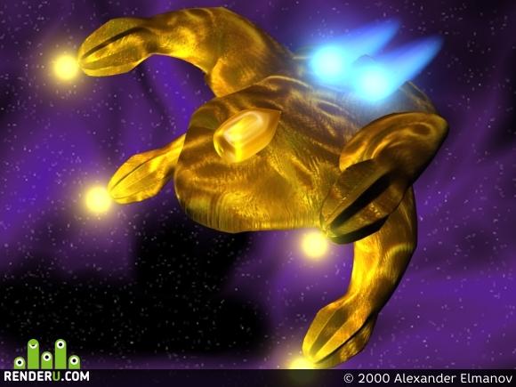 preview Космический корабль расы Gaal