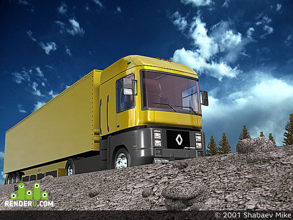 preview Renault Magnum
