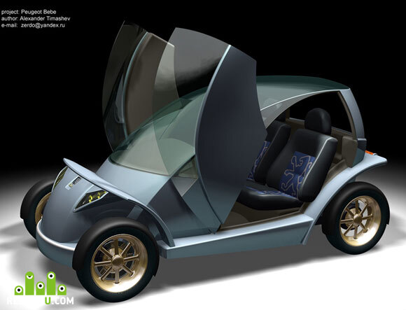 preview Peugeot BEBE (concept)