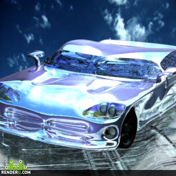 preview Dodge Viper blue