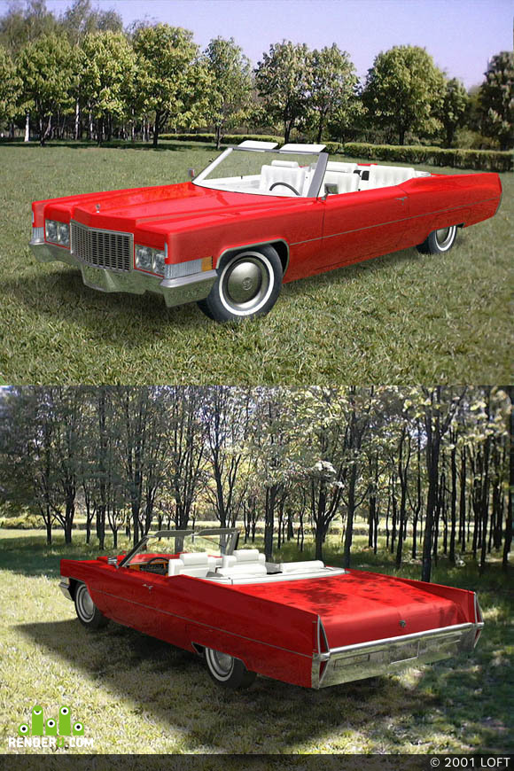 preview Cadillac 1970 DeVille Convertible