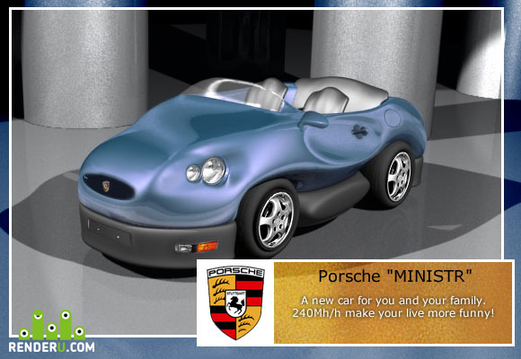 preview Porshe MINISTR