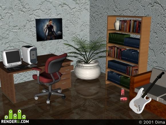 preview комната программиста